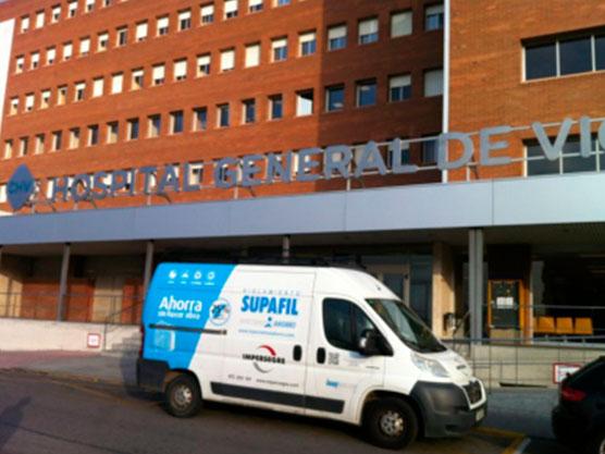 Rehabilitación Energética Hospital de Vic