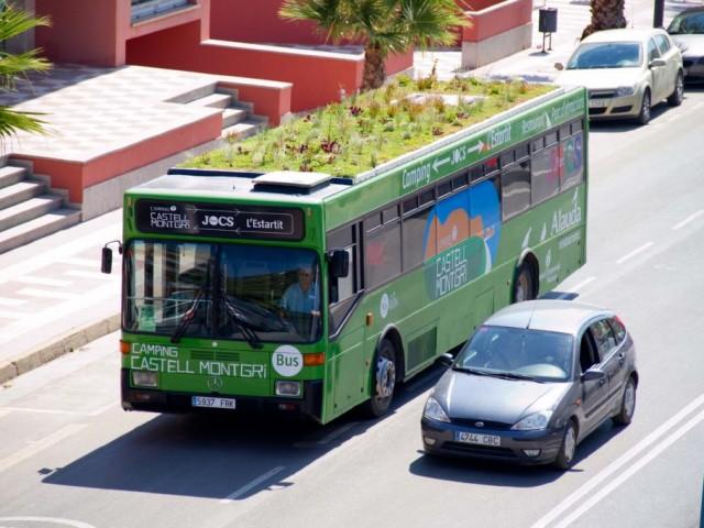 Nuevas tendencias en cubiertas verdes, jardines en movimiento