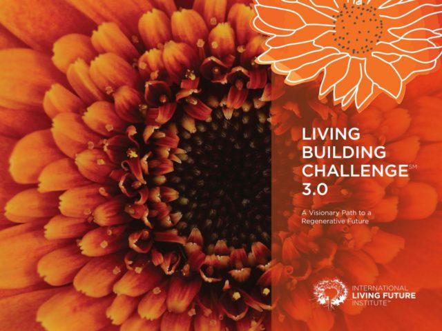 El pétalo de materiales de Living Building Challenge